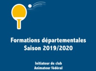 Formations Techniques 2019-2020