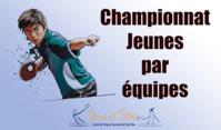 Championnat Jeunes : Les poules