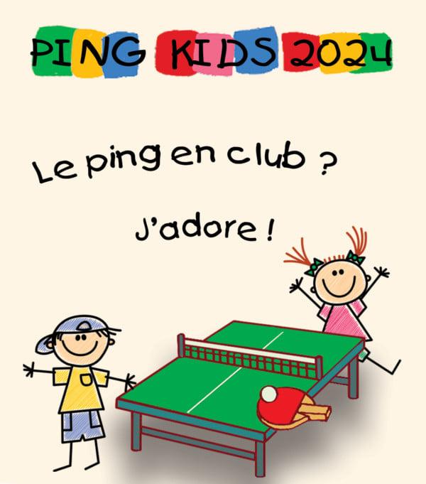 Ping kids 2024, c'est reparti…