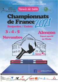 Championnats de France 2021 Benjamins/Cadets : appel à bénévoles