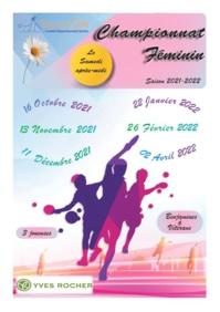Championnat Féminin 2021/2022 Phase 1 - version 2 du 06102021
