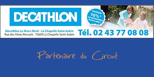 Circuit Décathlon Tour 1 Samedi 17 novembre