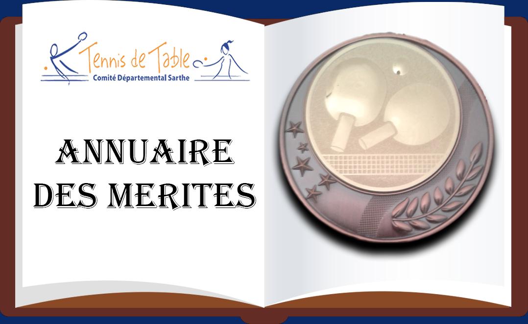 Annuaire Mérite