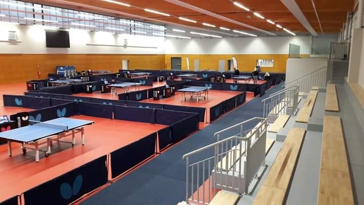 Nouvelle salle Le Mans Sarthe Tennis de Table