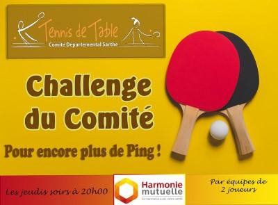 Challenge du comité Harmonie Mutuelle