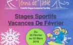 Stage pour tous Février