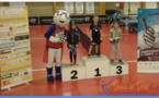 Tableau P11: 1er De Meulemester Jaden (Parigné), 2eme Ouvrard Lucie (La Flèche), 3eme Brunet Romain (Foulletourte).