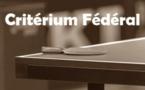 Critérium Fédéral T1 : Convocations