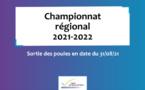 Poule du championnat régional 2021-2022 - Phase 1 (Version du 19 septembre 2021)