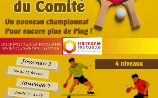 Sportive comit d partemental de tennis de table de la - Comite des arts de la table ...