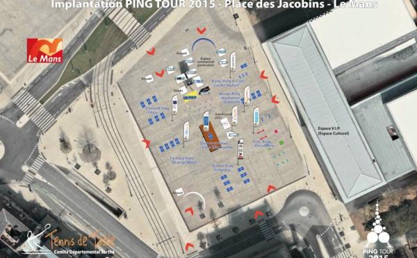 Ping Tour : Vue aérienne...